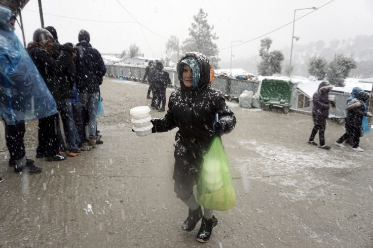 Moria Greece refugees migrants camp Lesbos