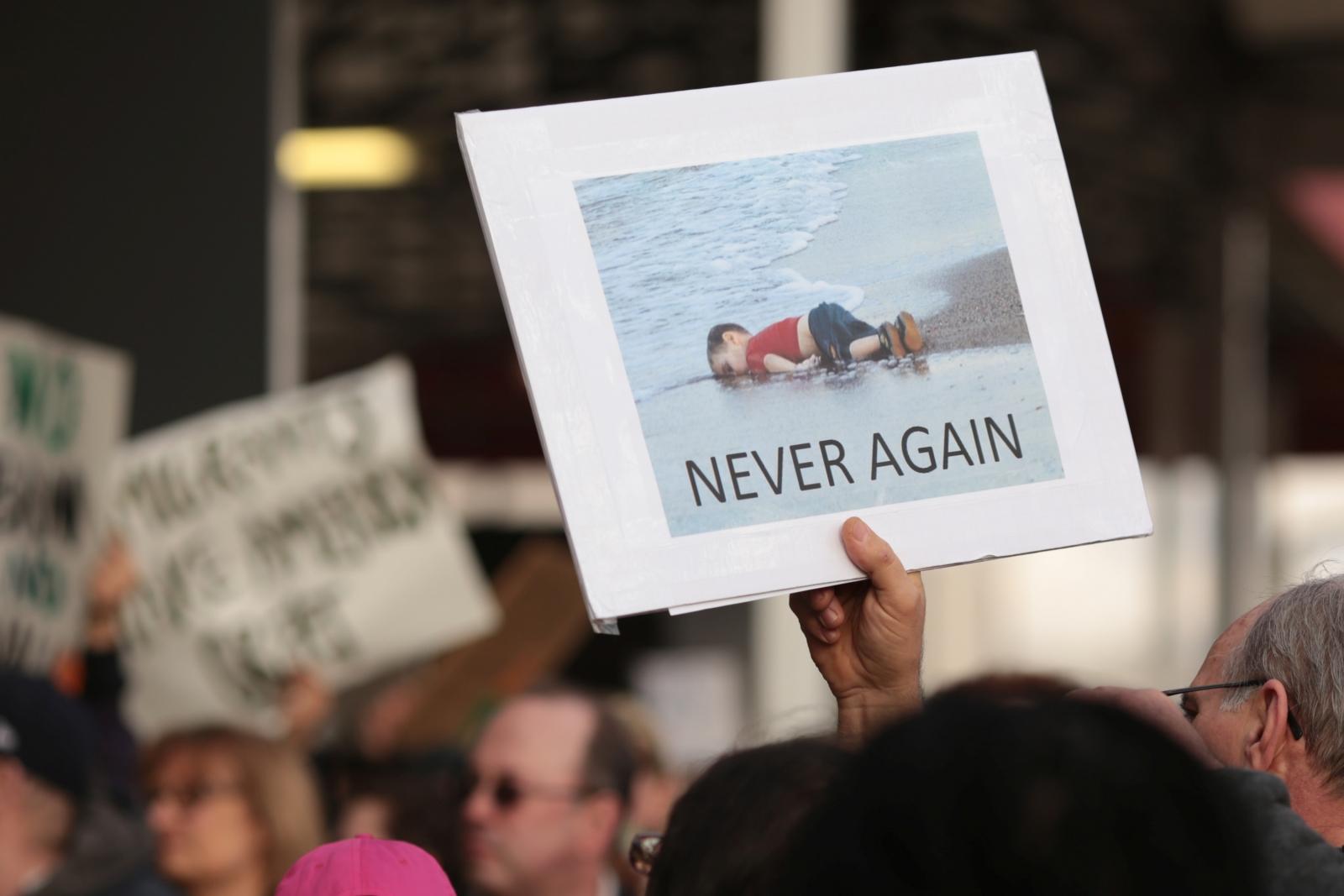 Trump immigration protests