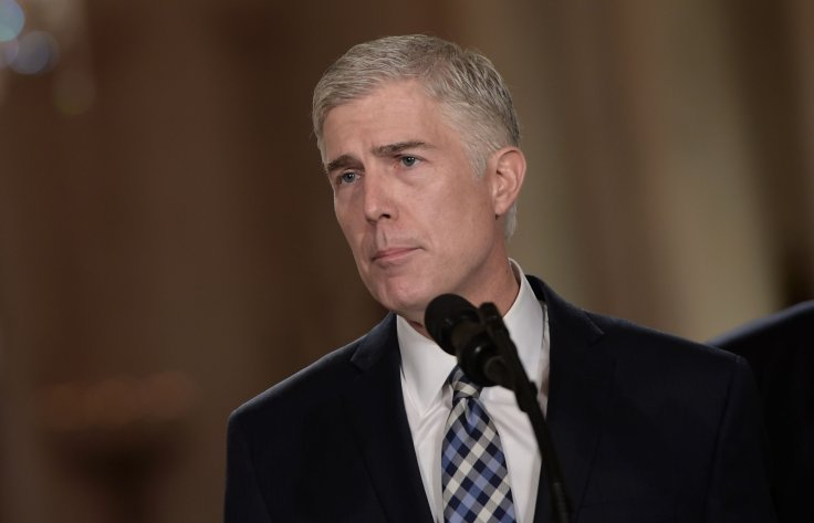 Trump Supreme Court nominee Neil Gorsuch