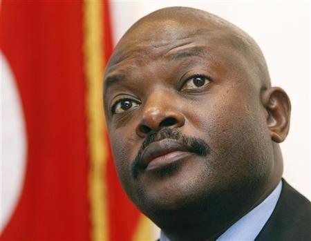 Burundi's President Pierre Nkurunziza