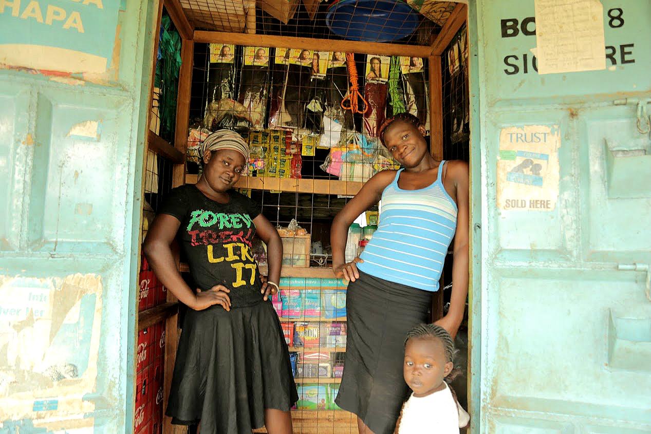 Girls in Kenya