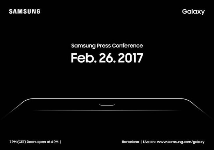 Samsung MWC 2017 invitation