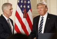 Protests erupt as Trump nominates Judge Neil Gorsuch as next Supreme Court Justice