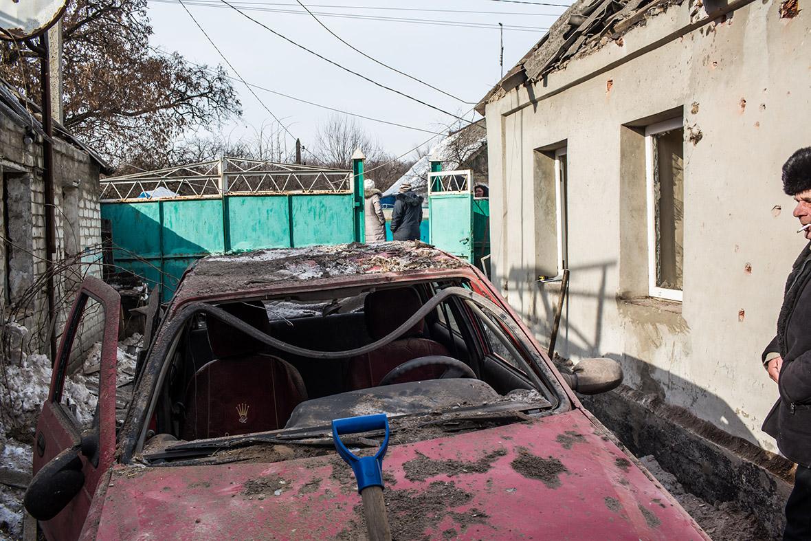 East Ukraine Avdiyivka Avdiivka russian separatists Donetsk