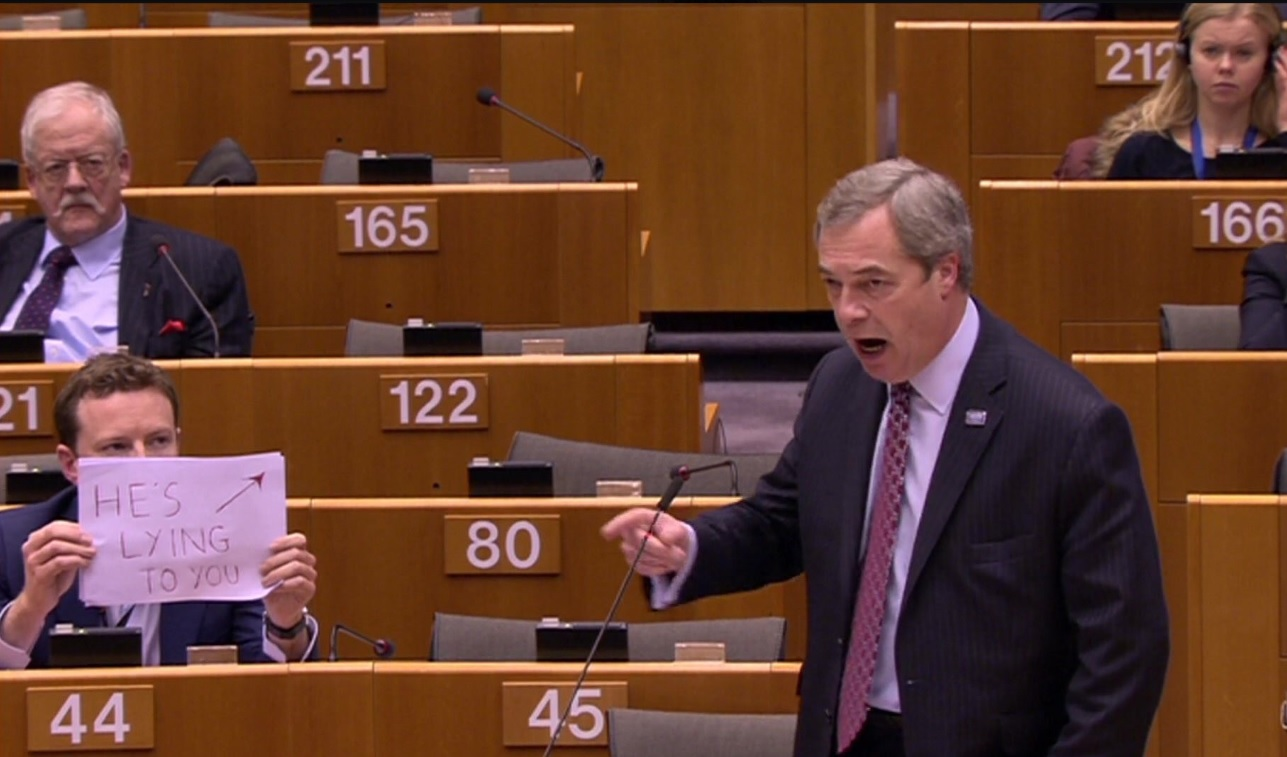 Nigel Farage, EU parliament