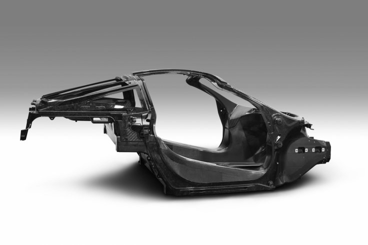 McLaren P14 carbon fibre tub