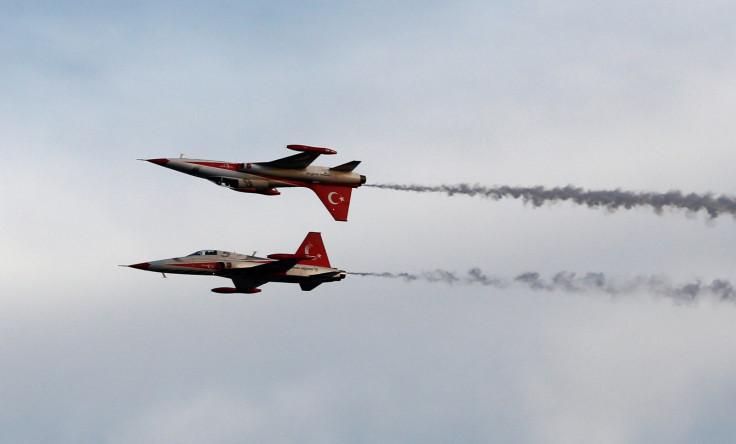 turkey air force planes