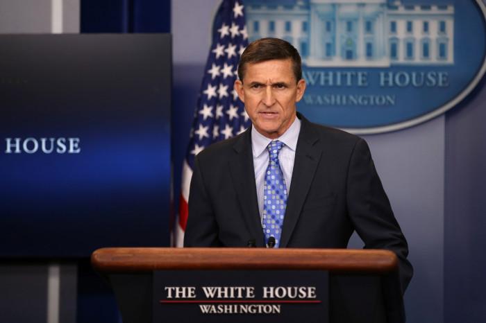 Michael Flynn warns Iran 2017
