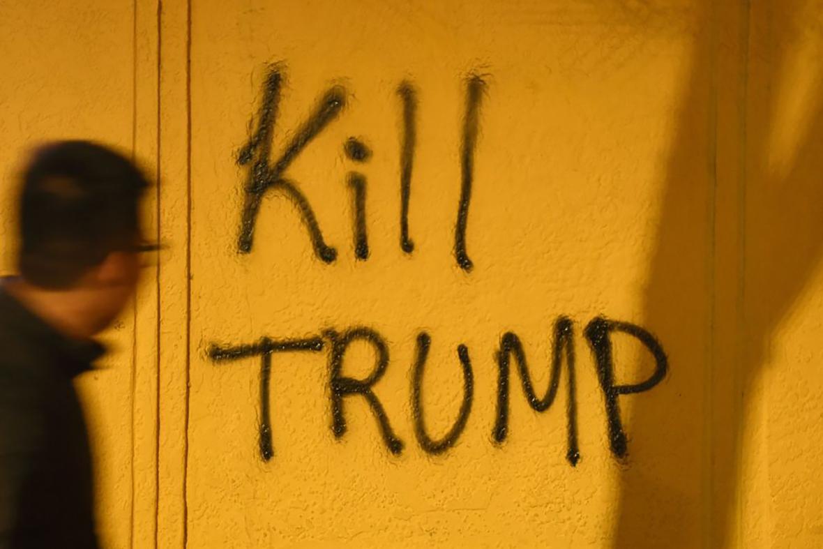Trump protest Berkeley