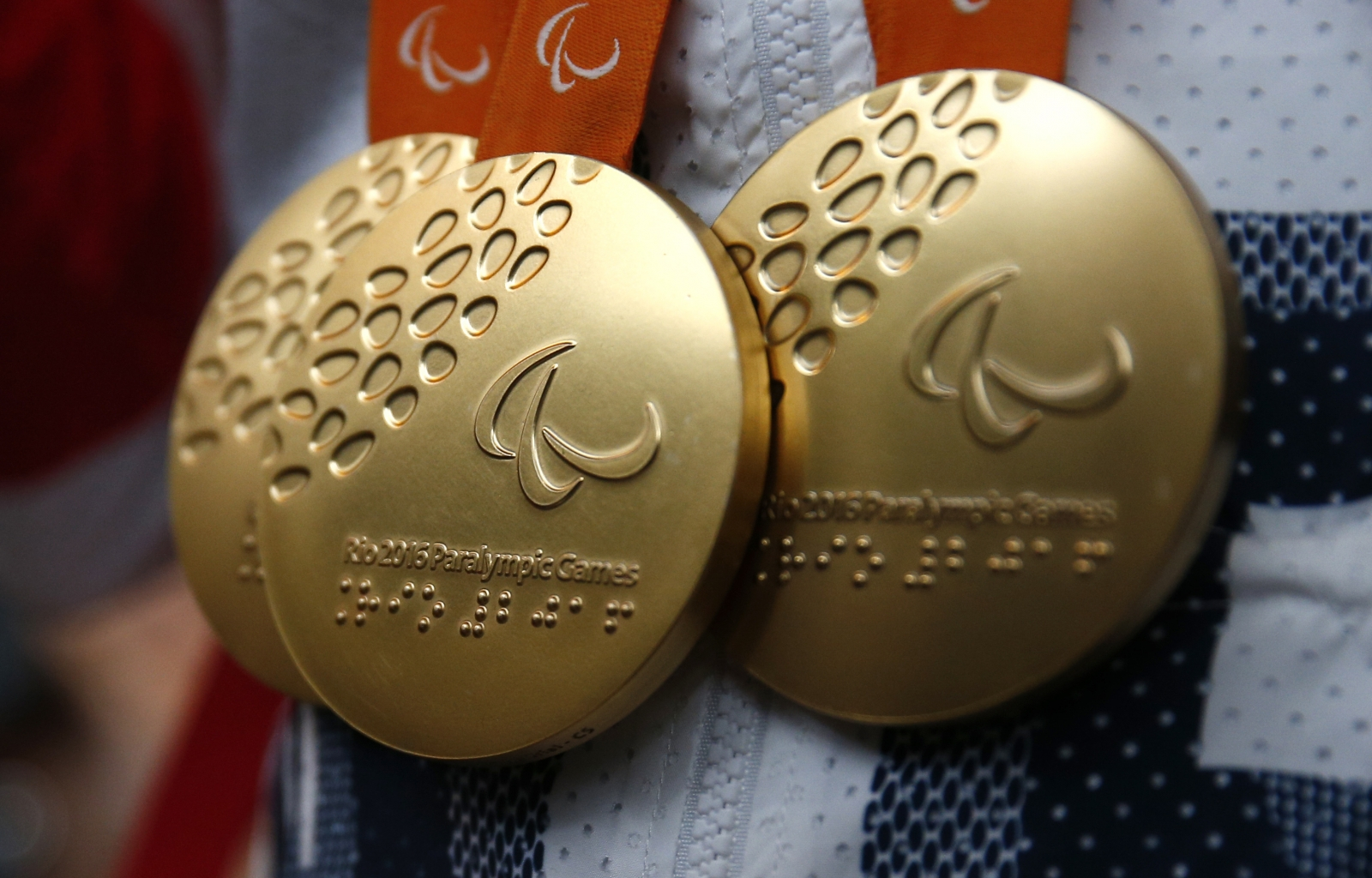 Paralympic gold medals