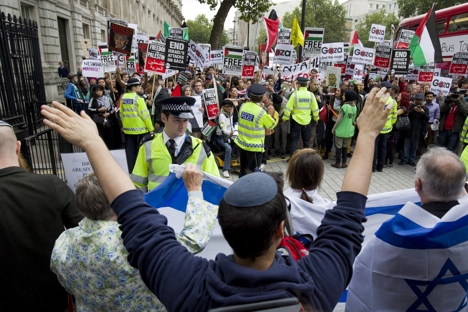 Left wing groups 'care more about hating Israel' than they do about fighting anti-Semitism