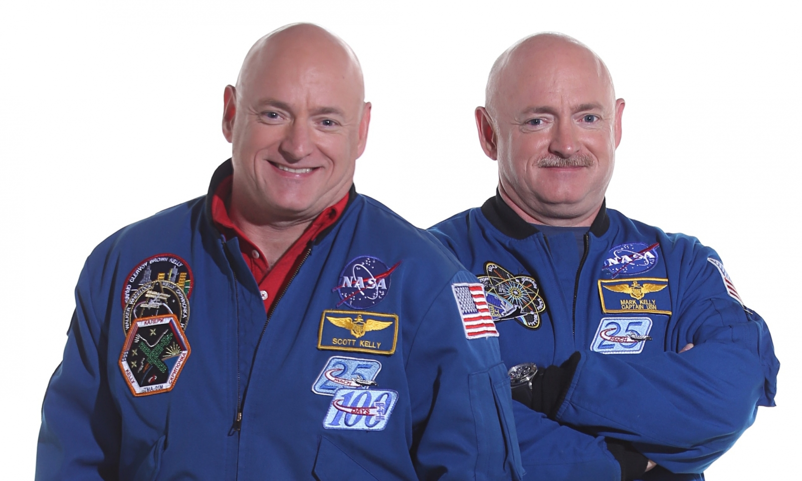 Scott and Mark Kelly: 5 findings from Nasa Twins Study