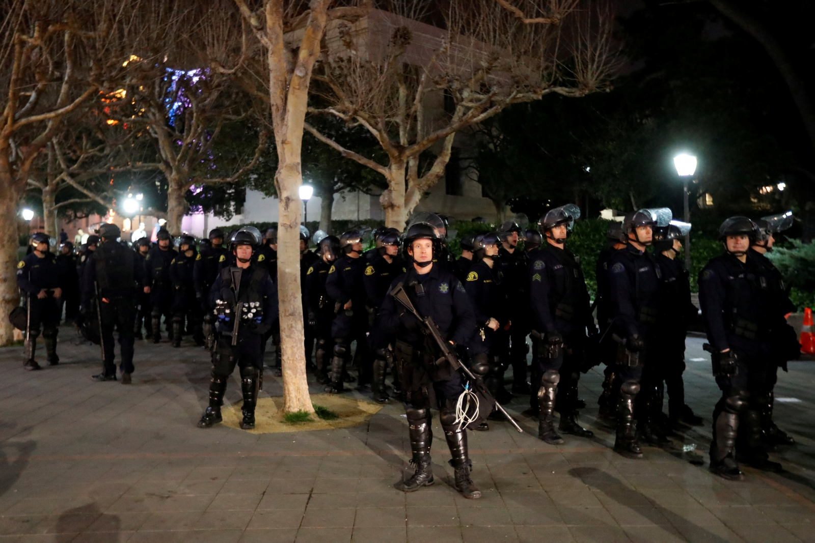 CALIFORNIA-UCBERKELEY/PROTESTS