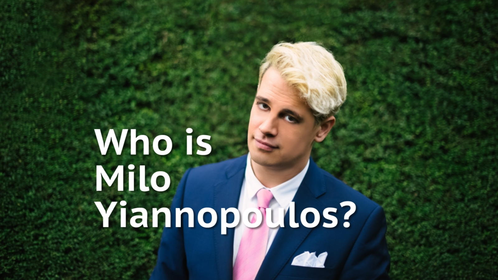 Who is self described 'supervillain' Milo Yiannopoulos?
