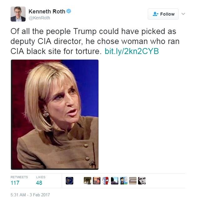 Ken Roth Emily Maitlis