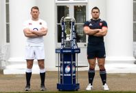Dylan Hartley and Guilhem Guirado