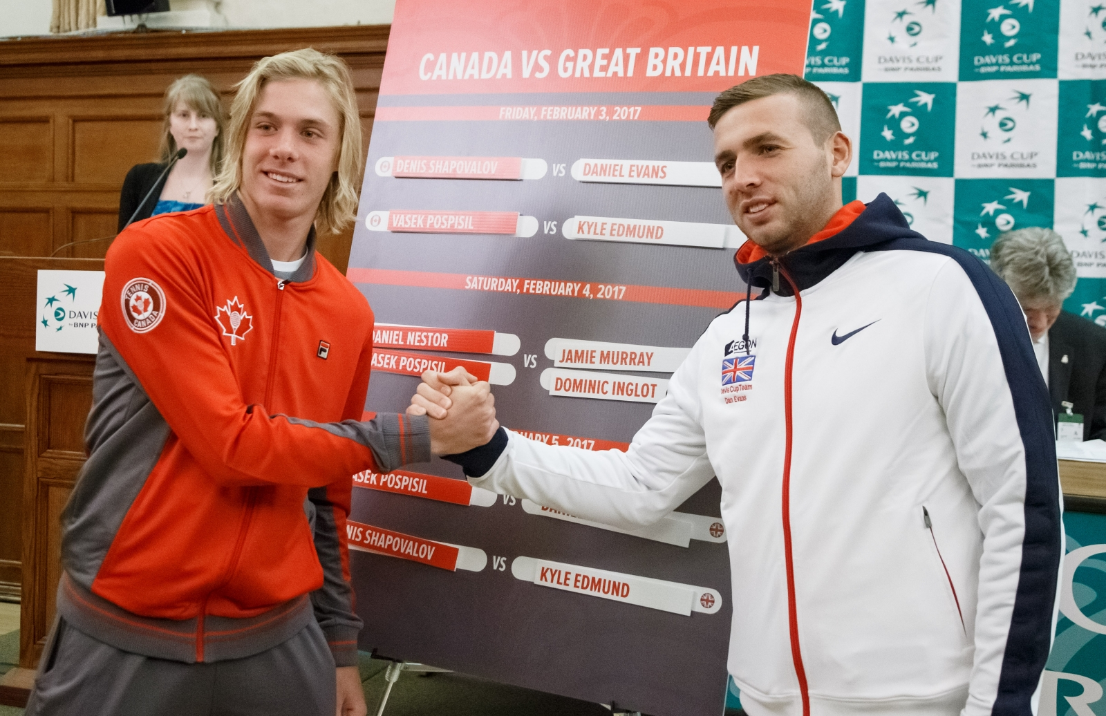 Denis Shapovalov vs Dan Evans