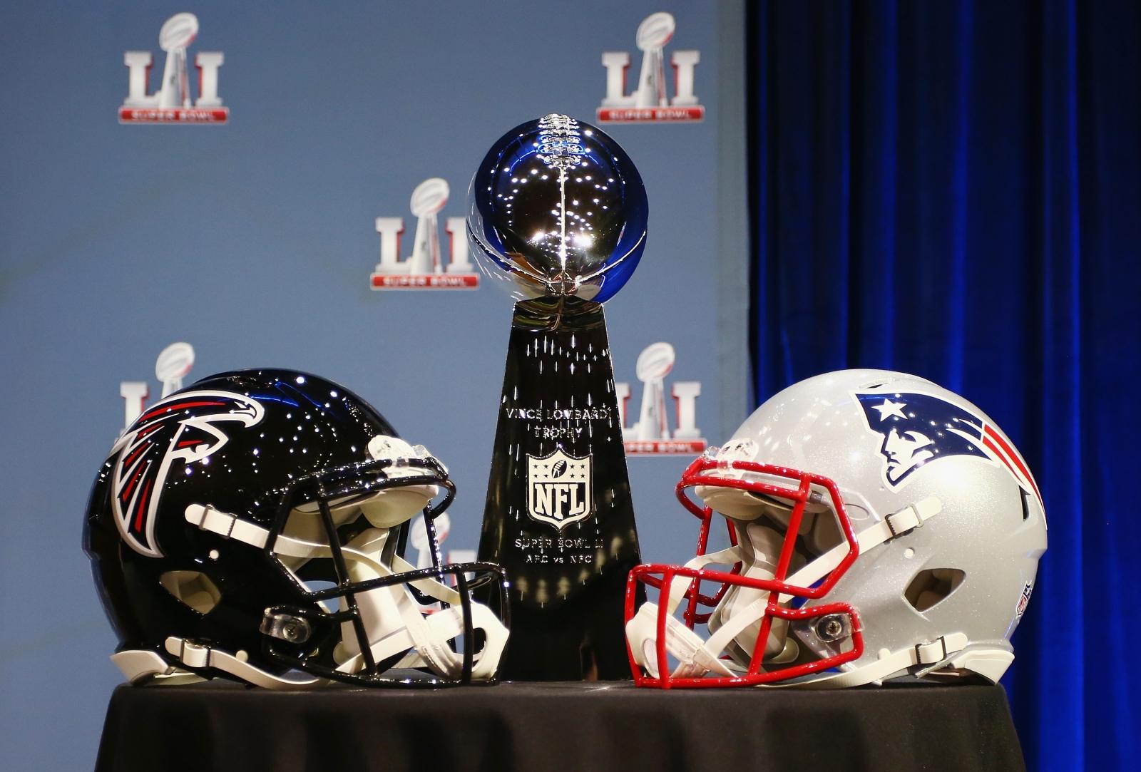 Patriots' comeback lit up New England - literally