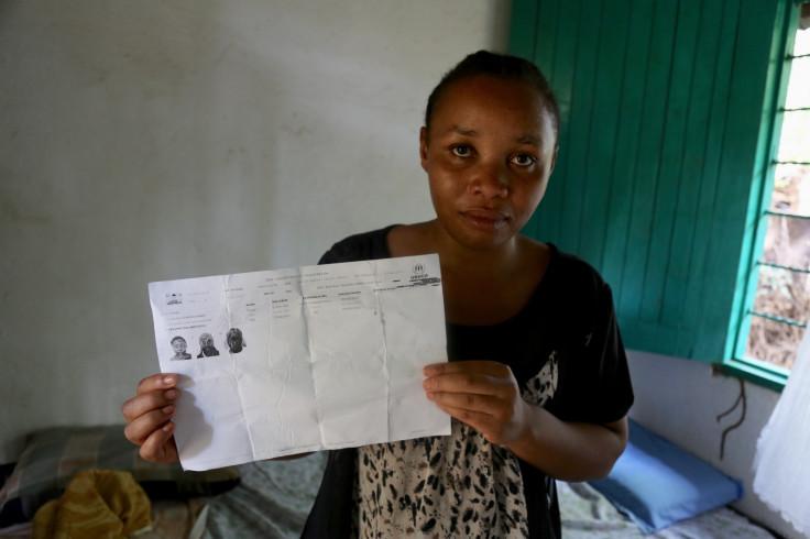 Clarisse, a refugee from Bukavu, DRC
