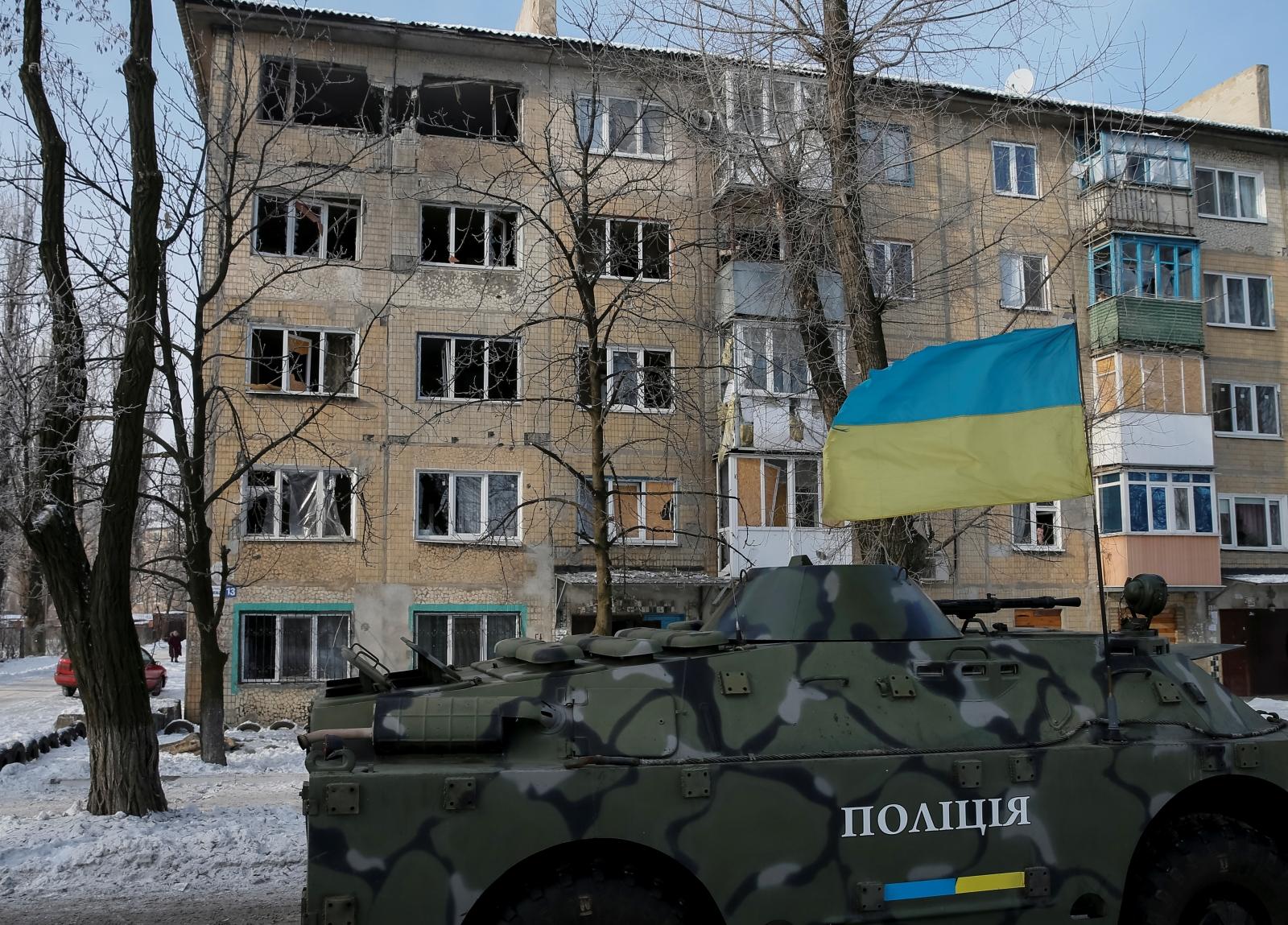 Avdiyivka Ukraine shelling