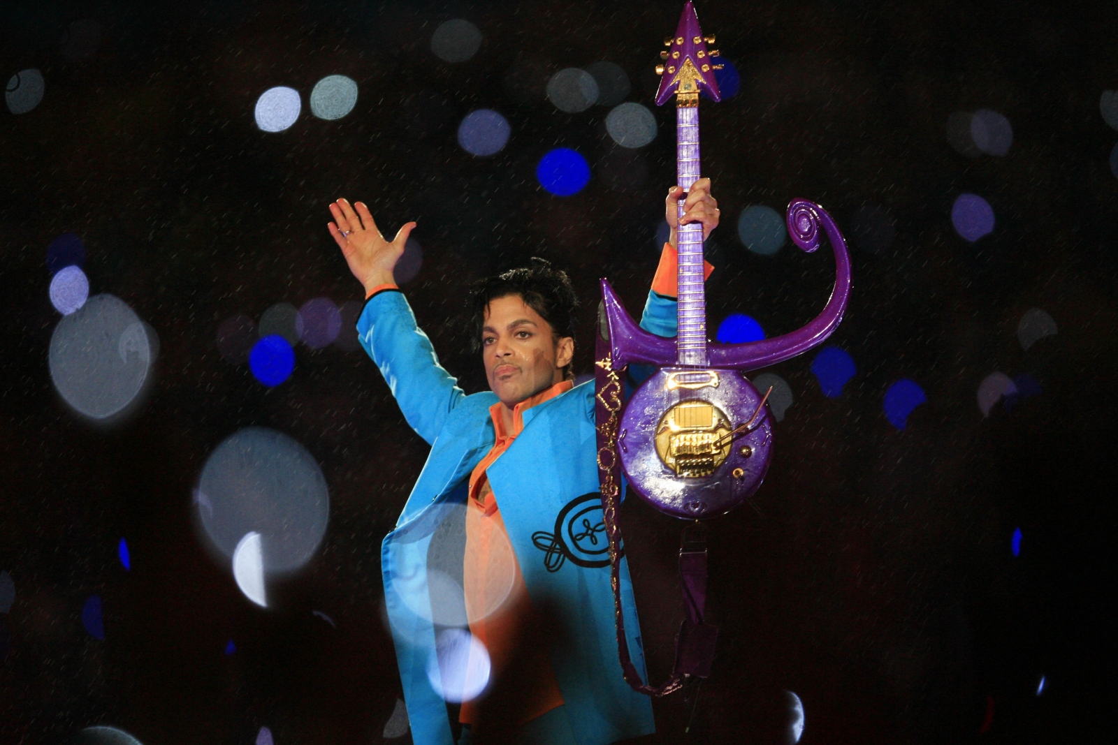 Prince's Superbowl performance 2007