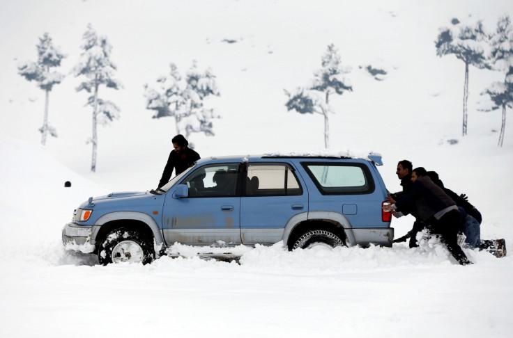 Afghanistan heavy snow