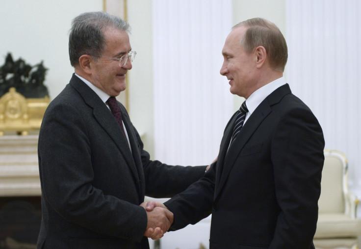 Romano Prodi, Vladimir Putin