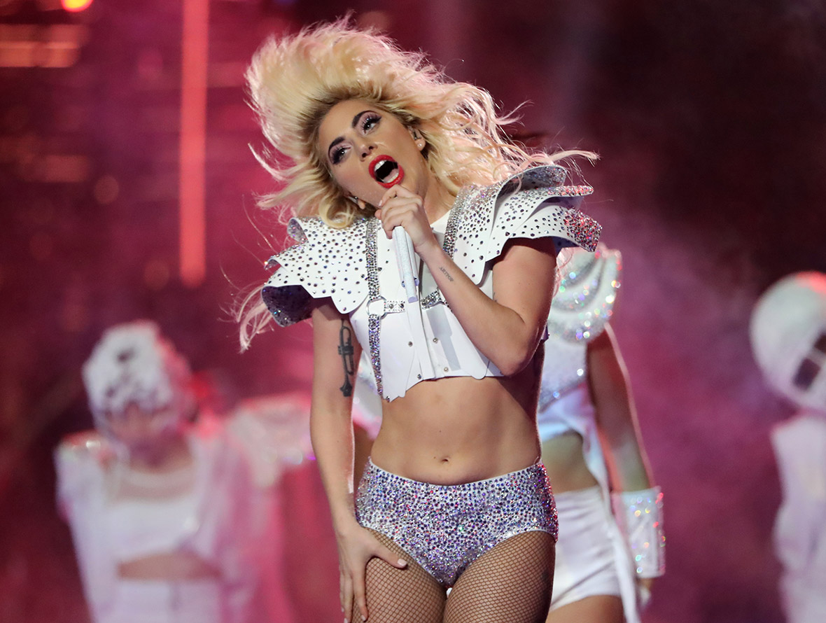 Lady Gaga Super Bowl half time show