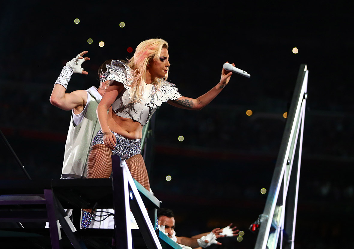 Lady Gaga Super Bowl half time show