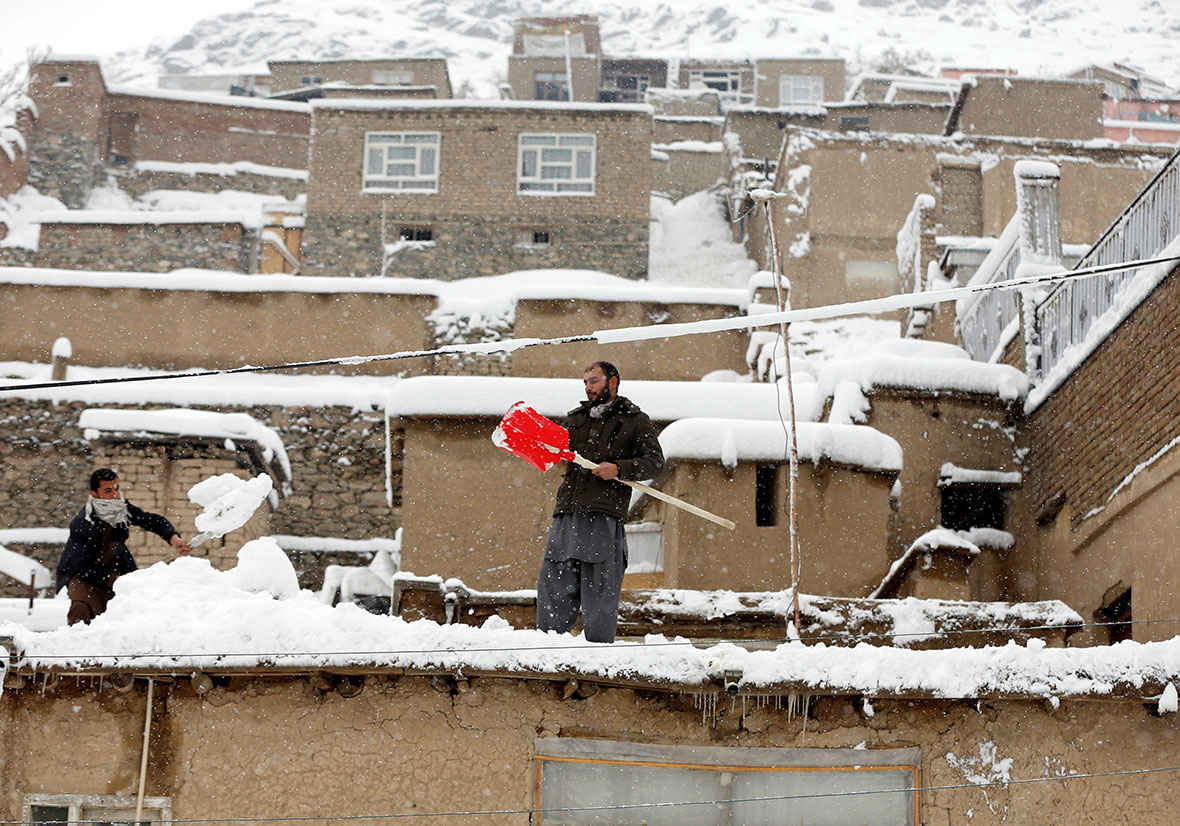 Severe Weather Conditions Hit Afghanistan As Heavy Snow