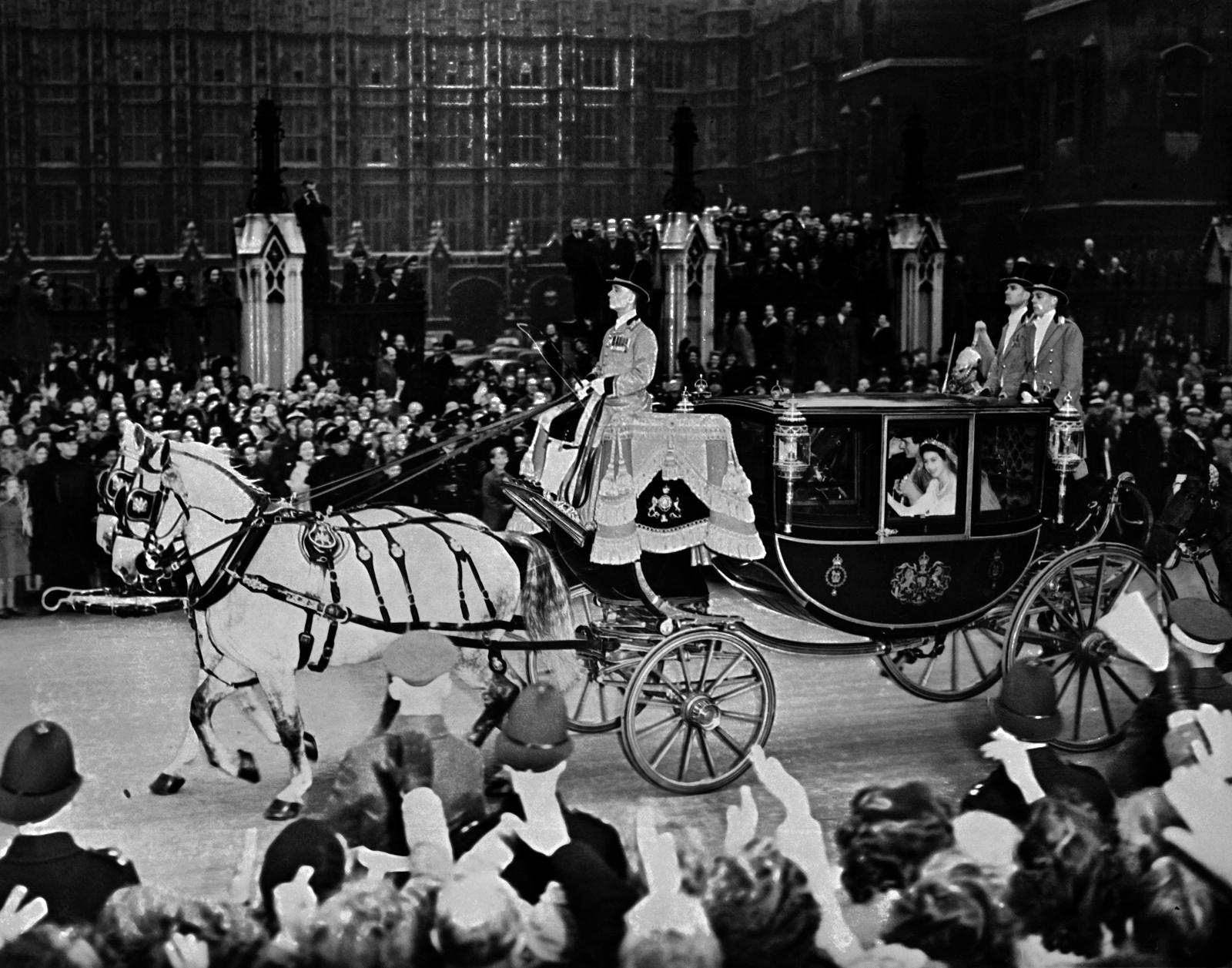 Queen and Prince Phillip wedding