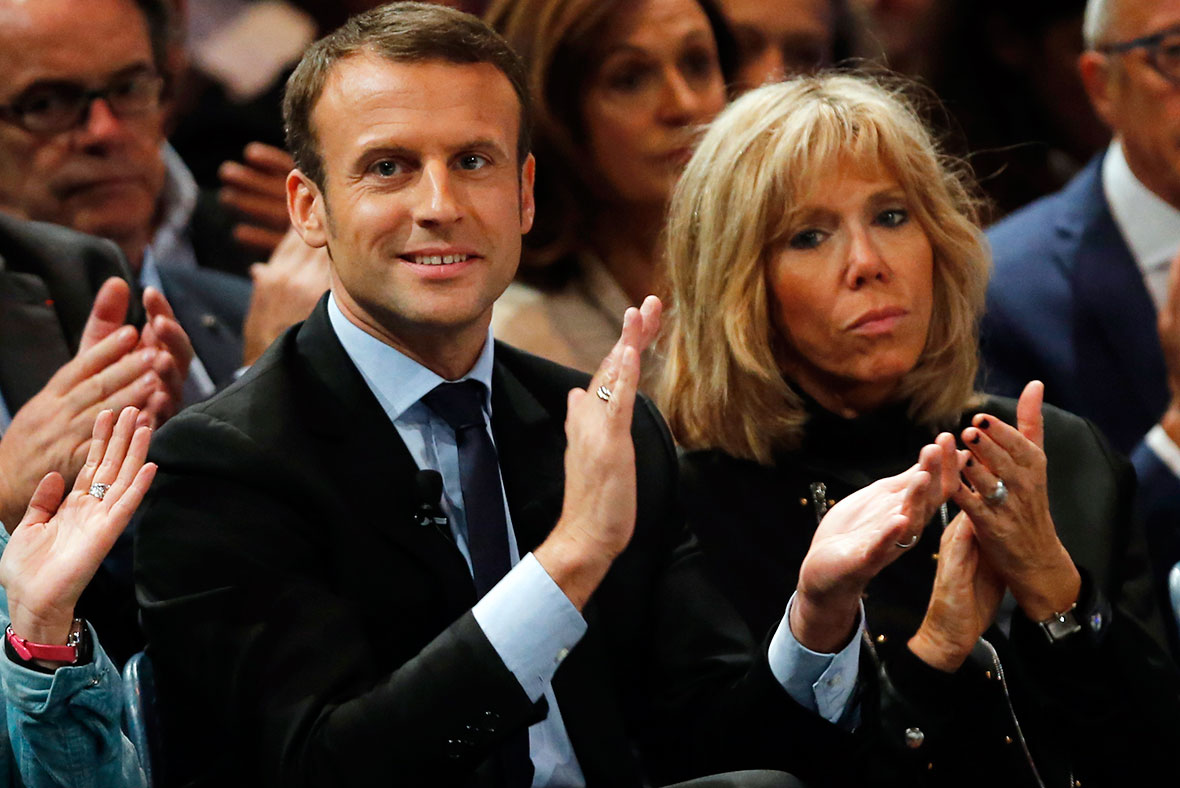 Brigitte Trogneux must answer awkward questions about how she met Macron