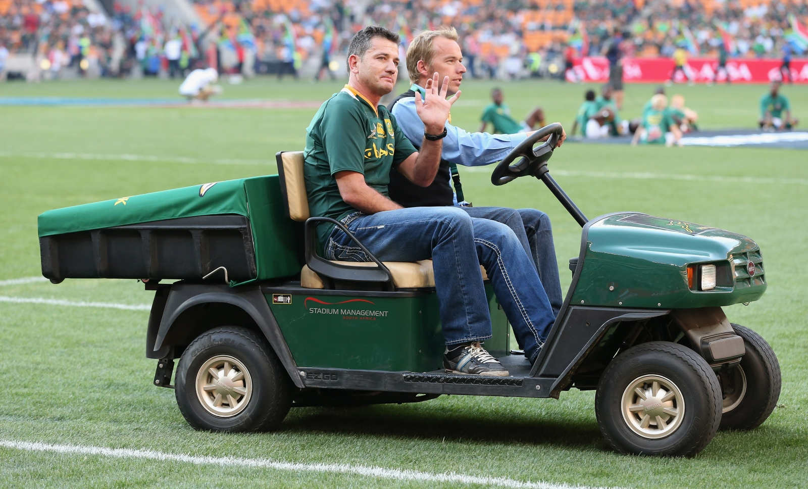 Springbok hero in hospital