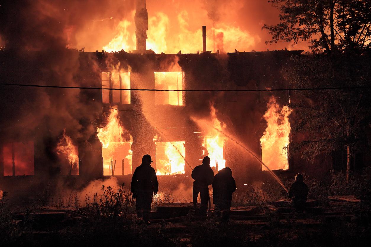 Full House Burning
