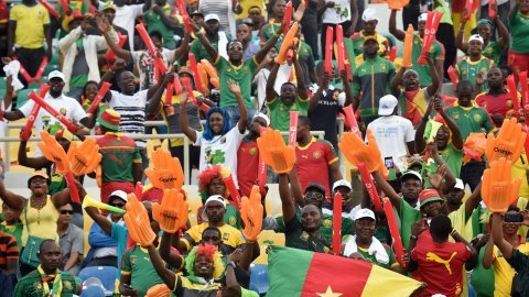 Cameroonians Celebrate After Indomitable Lions Win African Nations Cup Title