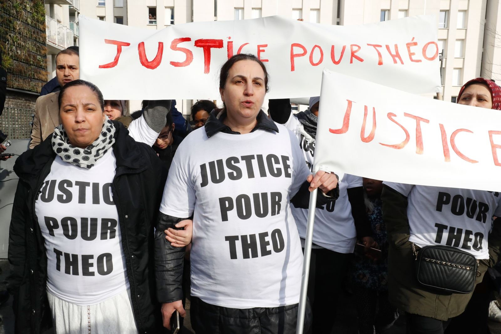 Paris protests after a  police officer was charged with the rape of a youth
