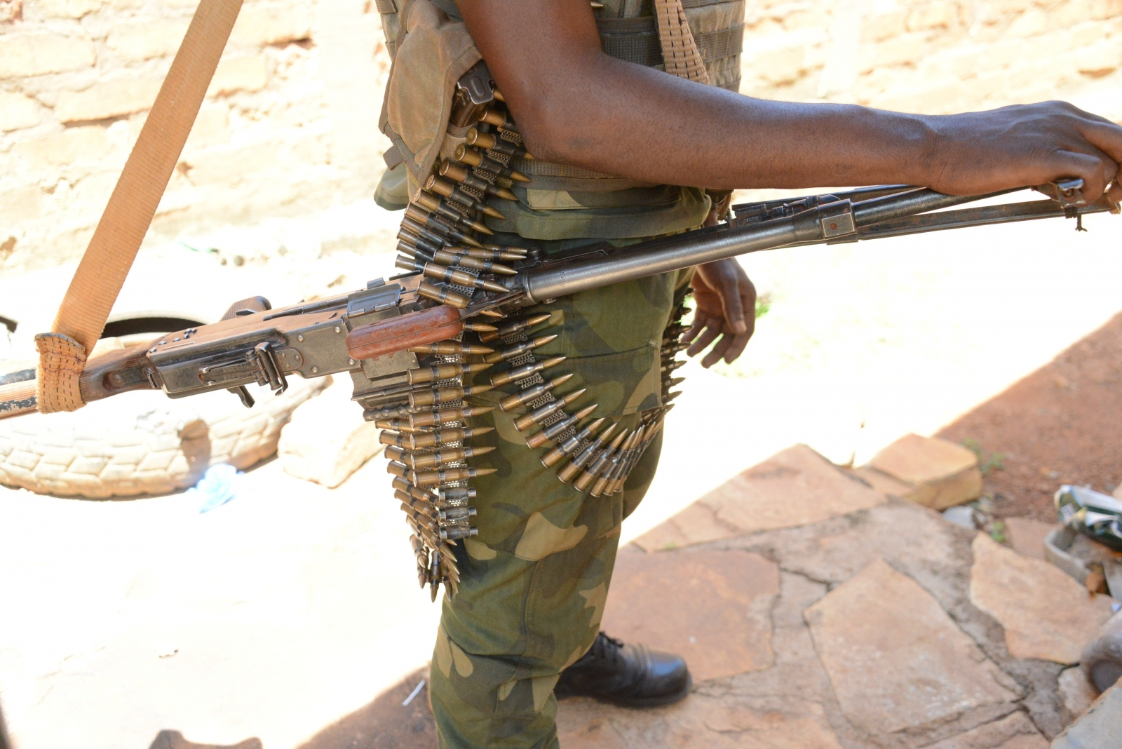 Ex-Seleka fighter