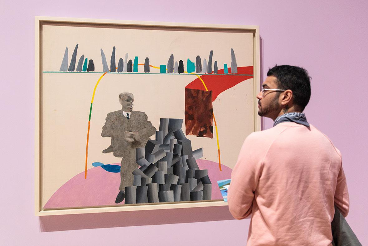 David Hockey retrospective at Tate Britain