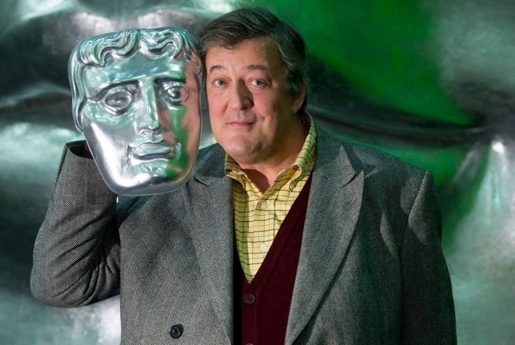 Stephen Fry at the Baftas in 2015