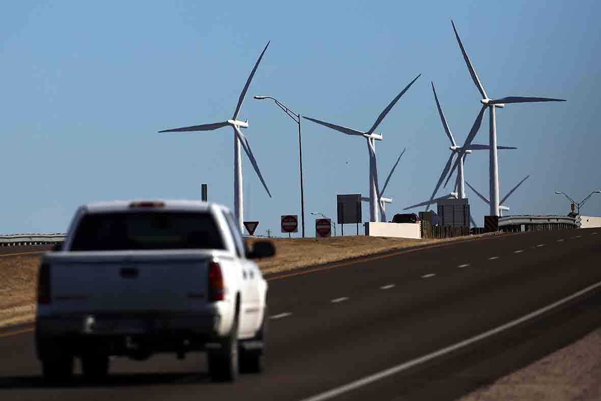 Texas wind farm