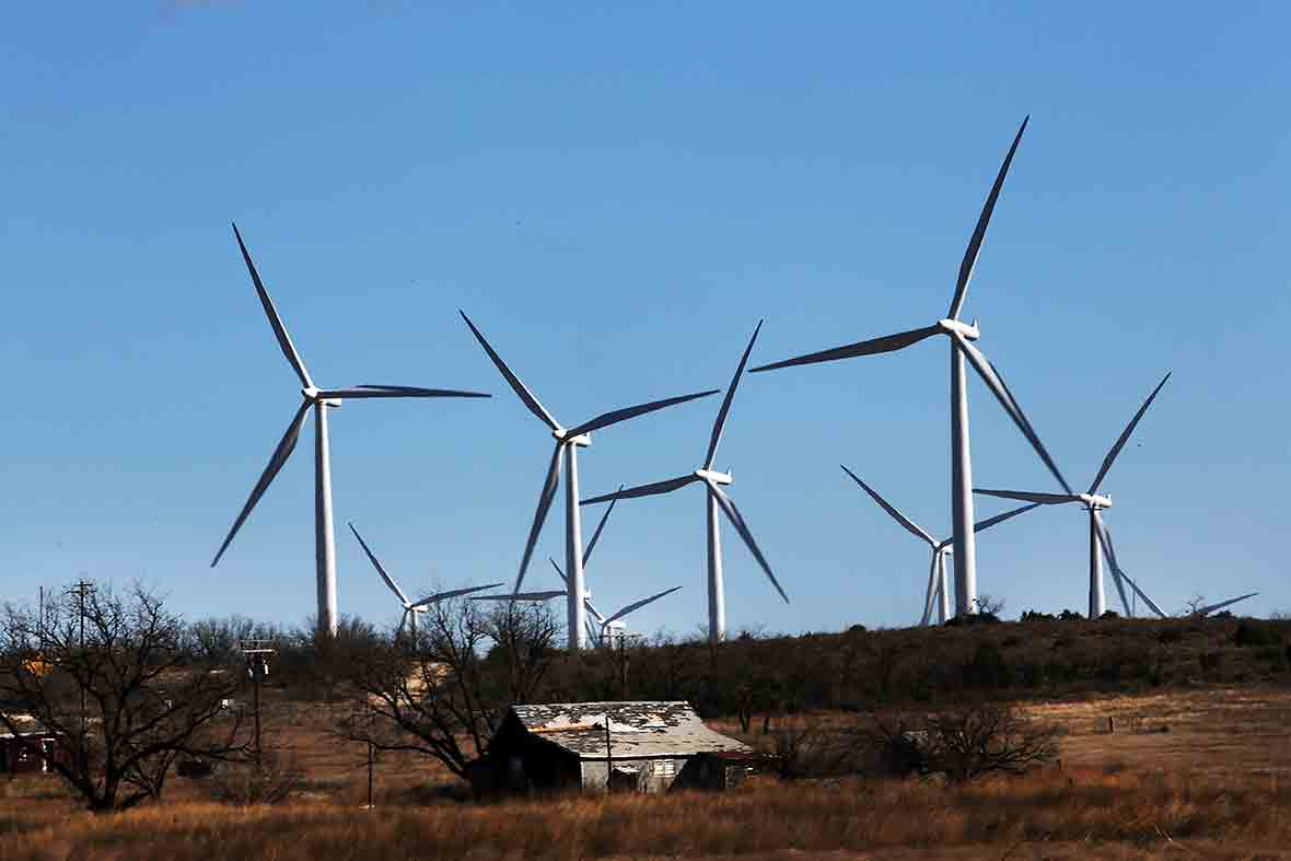 Texas wind farm