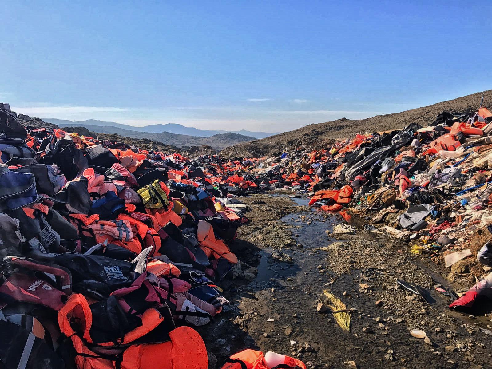 Lifejackets, Greece