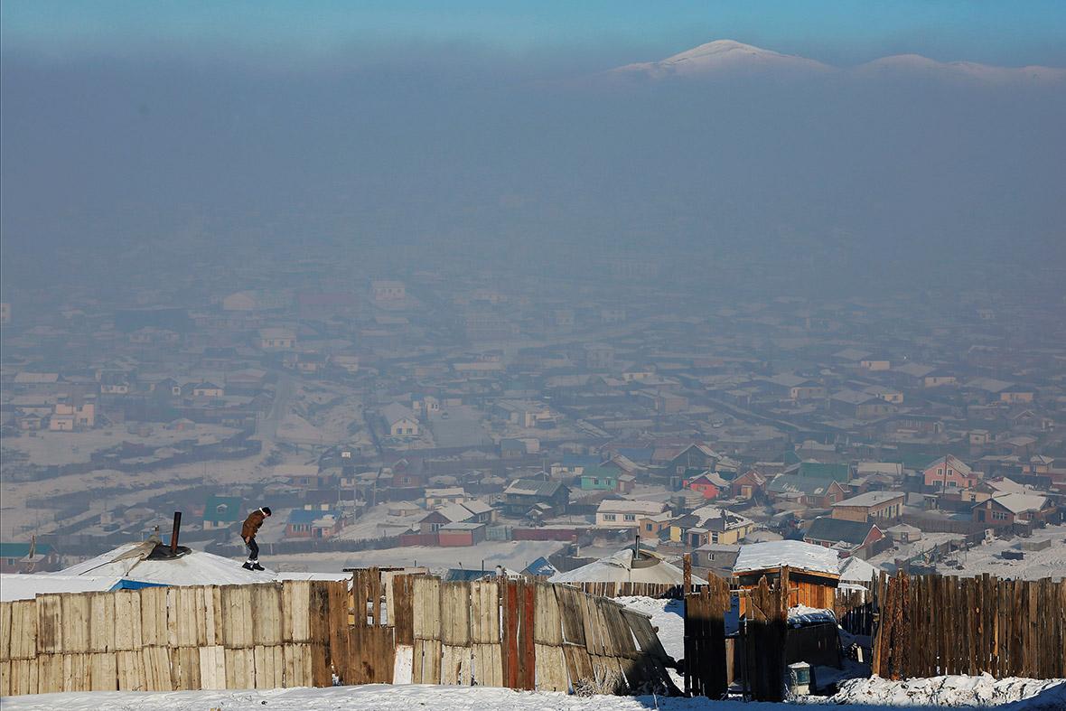 Mongolia air pollution