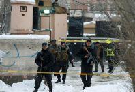Afghan policemen