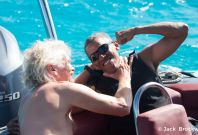 Barack Obama takes on Richard Branson in kiteboarding vs foil boarding challenge