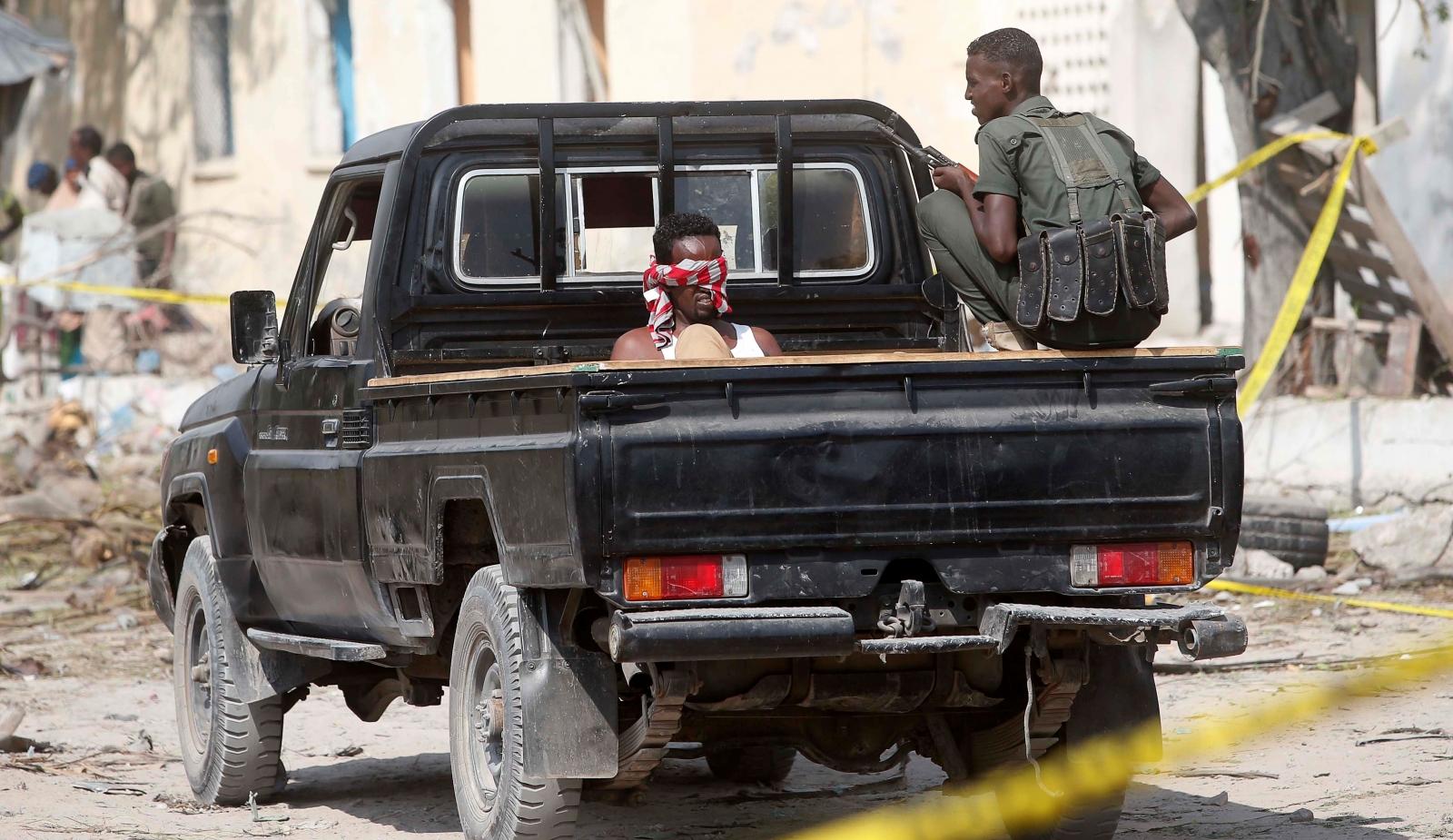 Al-Shabaab Somalia hotel attack