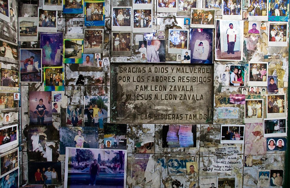 Jesus Malverde drug lords saint Mexico