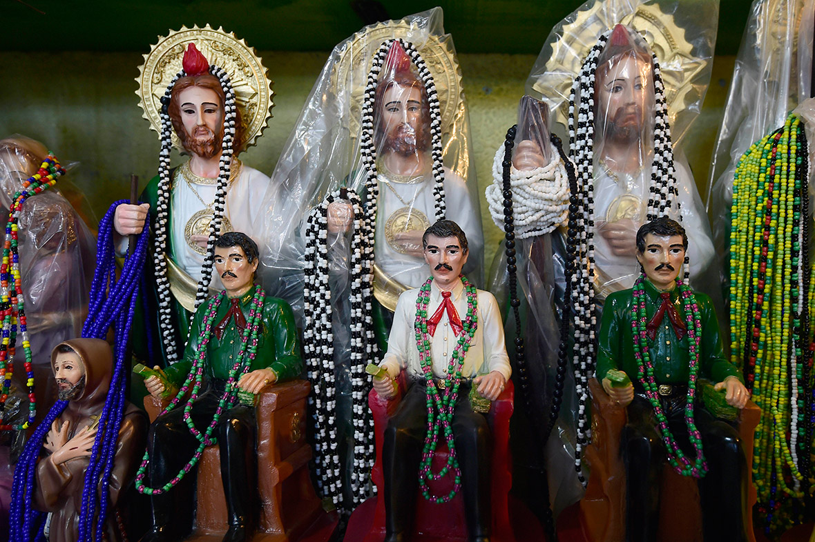 Meet Jesus Malverde Patron Saint Of Drug Dealers In Mexicos