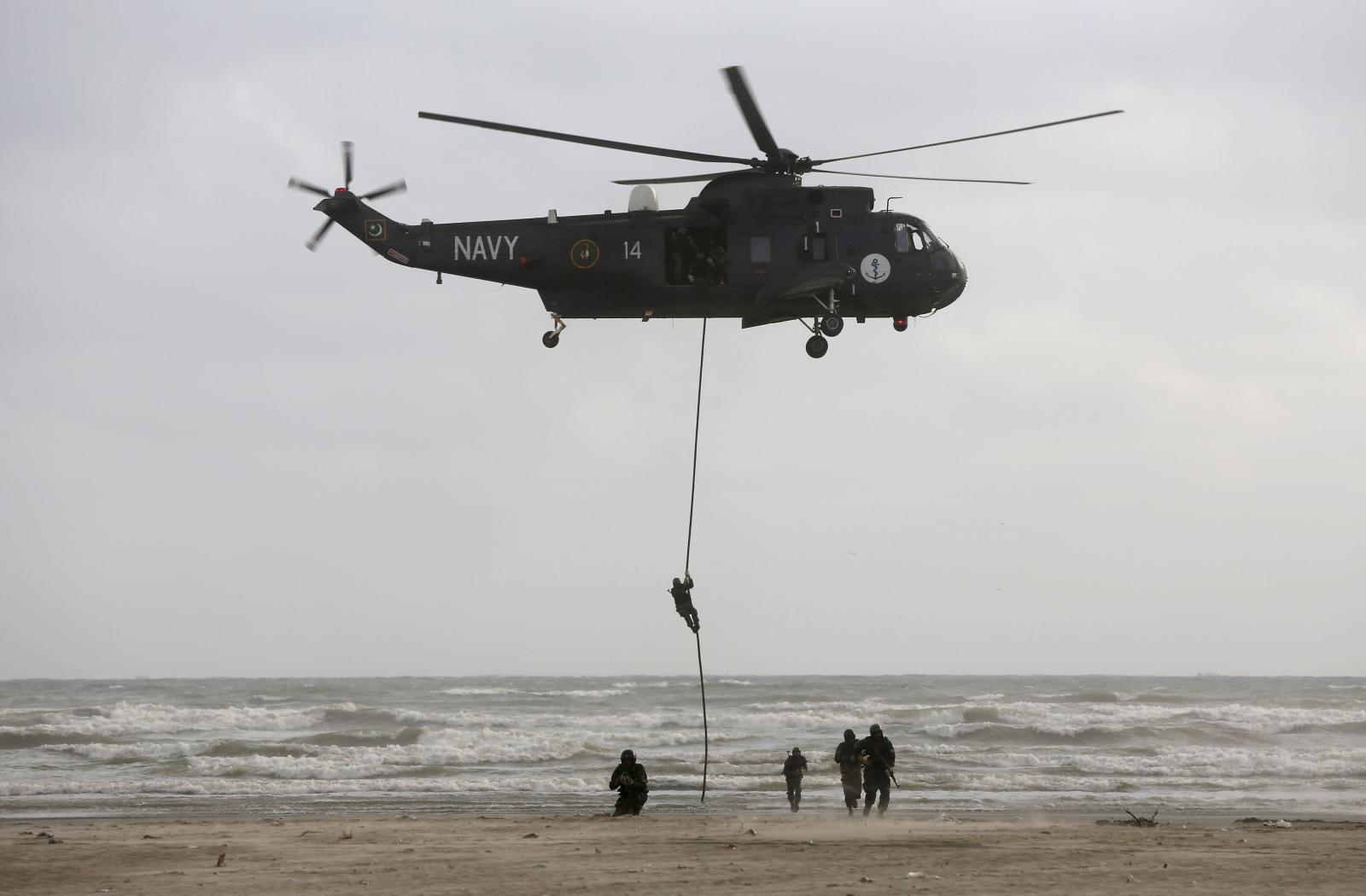 Pakistan navy exercise