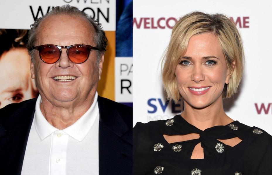 Jack Nicholson and Kristen Wiig